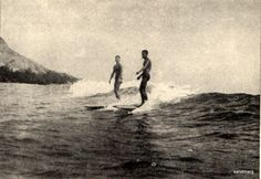 1920 Surfing South Pacific Islands