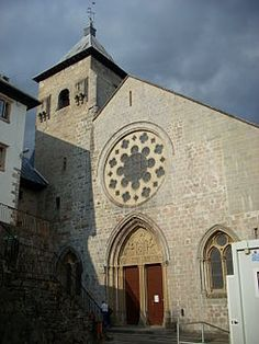 Colegiata de Santa María, Roncesvalles.Navarra.
