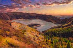 """""""Fire Lake"""", the latest upload to my gallery at FAA!"""