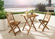 SAM® Balkonset 1 Akazie Holz 3tlg Blossom