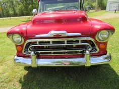 restored 1957 Chevrolet Pickup custom for sale Custom Trucks For Sale, 1970 Chevelle, Pickups For Sale, 1957 Chevrolet, Pick Up, Antique Cars, Restoration, Vintage Cars