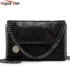 Fashion Womens design Chain Detail Cross Body Bag Ladies Shoulder bag  clutch bag bolsa franja luxury 853abb5ad4cb5