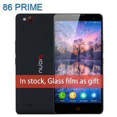 원래 zte nubia z7 max 휴대 전화 5.5 인치 스마트 폰 퀄컴 스냅 드래곤 801 쿼드 코어 2 그램 32 기가바이트 13MP 휴대 전화 안드로이드