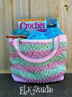 Honeysuckle - A Free Summer Crochet Bag