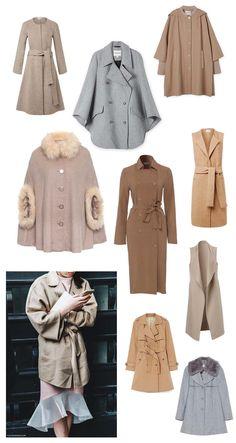 9 neutral capes and coats for winter