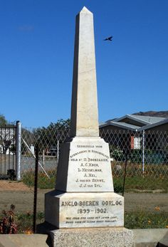 Commemorating the fallen in the Anglo Boer War of 1899 - Northern Cape, South Africa. Contrasting colonial monuments to contemporary memorials. West Africa, South Africa, The Journey Book, Clifton Beach, Cemetery Monuments, War Photography, Famous Landmarks, Gone Fishing, African American Art