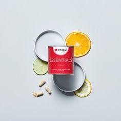 Perfekt ausgewogen, perfekt dosiert, perfekt für jeden Tag: Die amapur Essentials enthalten alle benötigten Vitalstoffe in angemessener Dosierung. Essentials, Tableware, Vitamins And Minerals, Fiber, Dinnerware, Dishes