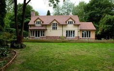 bedfordshire pearmain - Border Oak - oak framed houses, oak framed garages and structures.