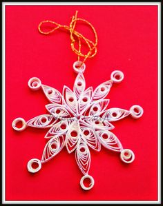 Trupti's Craft: Paper Quilling Christmas Ornaments