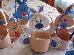 Pascua del conejo en goma eva