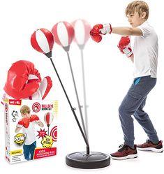 1 X New Novelty Boxing Gloves Pop Top Pen Punch Toy Kids Fun Gift  Prank Joke