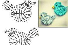 Bird crochet