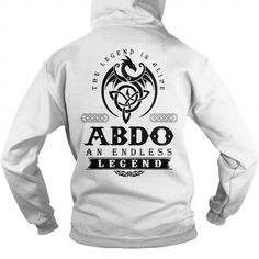 I Love ABDO T-Shirts