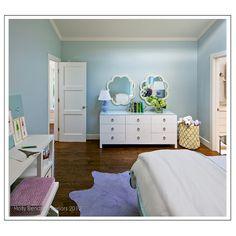 Lavender & Blue tween room