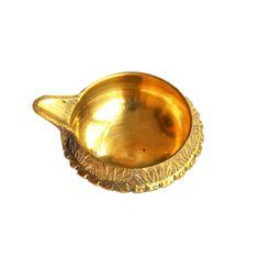 Handicraft Brass Diya Lamp 3 Cm By Anjalika Brass Handicrafts on Shimply.com