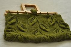 A Walk Among Trees  designer handknit leafy by EveldasNeverland, $266.00