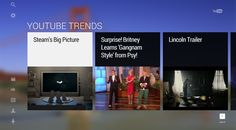 YouTube Leanback matures to YouTube TV