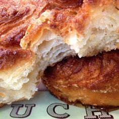 Kouign Amann from Bouchon Bakery is my new food obsession. <3