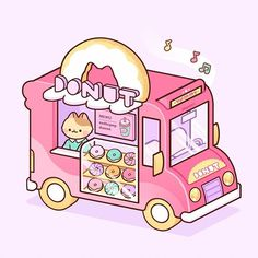 Cute Food Drawings, Cute Animal Drawings Kawaii, Arte Do Kawaii, Kawaii Cat, Kawaii Stuff, Kawaii Doodles, Cute Doodles, Kawaii Stickers, Cute Stickers