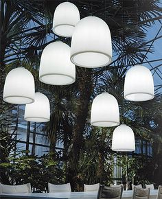 Campanone outdoor pendant light #outdoorlighting #modern #lighting