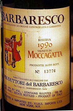 Fra vinmarken Moccagatta i Barbaresco