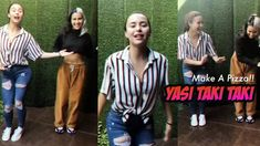 Yassi Pressman So Sexy TAKI TAKI Dance Tutorial Yassi Pressman, How To Make Pizza, Dance, Sexy, Youtube, Fashion, Dancing, Moda, Fashion Styles