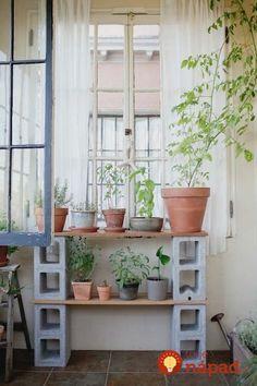 41 geniálnych nápadov, ako využiť betónové tvárnice v záhrade