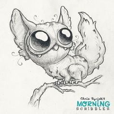 Fluffy Friday! #morningscribbles