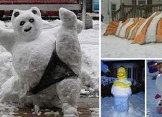 NapadyNavody.sk | Najlepšie veterníky z odpaľovaného cesta Polar Bear, Fit, Animals, Animales, Shape, Animaux, Animal, Animais