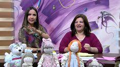 Mulher.com 18/05/2015 Vivi Prado - Boneco capa de mamadeira Parte 1/2