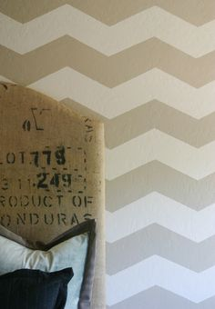 Max's room!  DIY Chevron Wall... Note to self* this is the pin with perfect measurements!  We are doing this in the little ones bedroom.