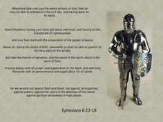 Ephesians 6:12-18