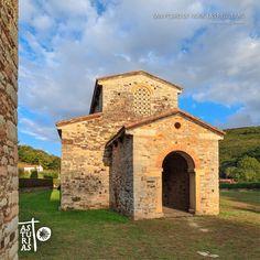 Entornos del Camino de Santiago en Asturias. San Pedro de Nora. Las Regueras