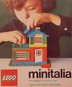 The minitalia campaign was so cute. It's a shame they discontinued it in 1976.