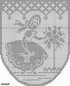 ДАМЫ В КРИНОЛИНЕ. ИДЕИ ДЛЯ ТВОРЧЕСТВА. Обсуждение на Li… na Stylowi.pl Crochet Patterns Filet, Embroidery Patterns, Sewing Patterns, Crochet Curtains, Crochet Doilies, Cross Stitch Designs, Cross Stitch Patterns, Swedish Embroidery, Tatting Tutorial