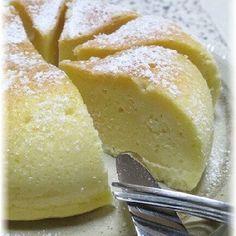 炊飯器で簡単!しっとり濃厚ベイクドチーズケーキ!