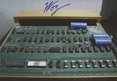 Wozniak - Signed. Authentic Photo.