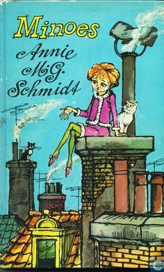"""Minoes"" by Annie M.G. Schmidt is about Tibbe, a struggling journalist, and his particular friendship with a young lady called Minoes, who used to be a cat. Mandatory children's reading!"