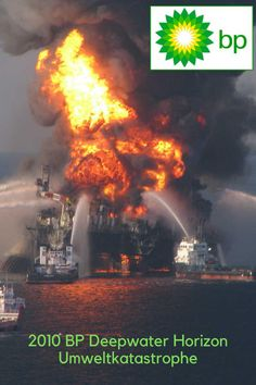 Die Zeitungen berichten ausführlich über die CO2-Netto-Null-Strategie der BP im Kampf gegen den Klimawandel. Shell investiert Milliarden in erneuerbare Energie und kündigt an, größter Stromversorger der Welt zu werden. Echt jetzt?   Die Umweltkatastrophe der Deepwater Horizon 2010 BP und Klimawandel erinnert an die Explosion der Ölbohrinsel Deepwater Horizon im Golf von Mexiko. Wegen mehrerer schwerer Fehler geriet vor 10 Jahren die Ölplattform in Brand und explodierte. Deepwater Horizon, Chevron, Oil Platform, Renewable Energy, Gulf Of Mexico, Greenhouse Gases, Energy Consumption