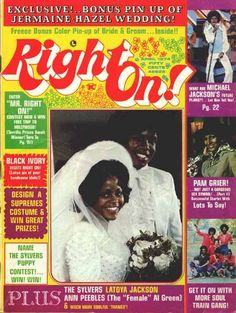 Right On Magazine Covers Jackson Five 1974 - I WANT THIS!