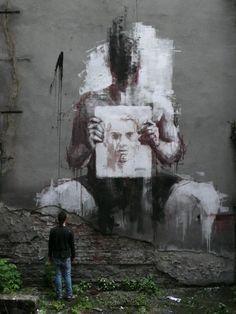 Street Art by Borondo from Spain 3