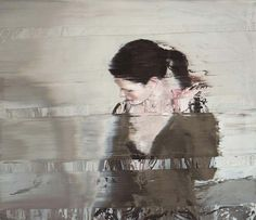 Lubiel I - Painting by Swiss artist Andy Denzler