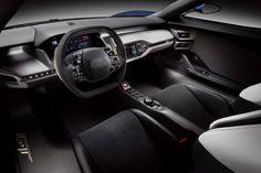 Ford GT - Interno