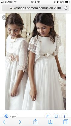 Find the perfect First Communion Dresses, First Holy Communion Dresses in Styletheaisle's Communion Dresses collection. The most beautiful designs of Dresses for First Communion and Girls Communion Dresses are NOW available. Girls Baptism Dress, Girls First Communion Dresses, Confirmation Dresses, Holy Communion Dresses, White Communion Dress, Girls White Dress, Little Girl Dresses, Girls Dresses, Flower Girl Dresses