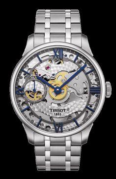 Tissot Chemin Des Tourelles Squelette T099.405.11.418.00