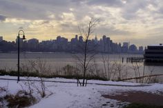 Edgewater Nj across from Manhattan but thankfully not of it. lol