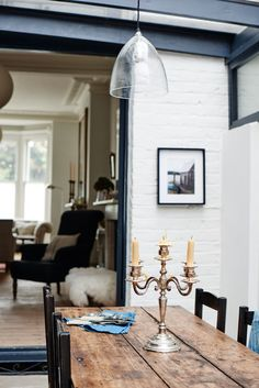 A Rescued and Refined Terrace House in London by Cassandra Ellis: Remodelista