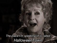 halloween town film locations