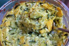 creamy vegan squash casserole