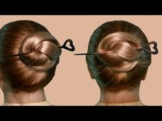 How to use a hair stick hair fork 7 styles tutorial hair hairstyle with hair stick by yourself hairstyle with stick isnt the most elegant of hairstyles but hair sticks can be used when you need to remove hair solutioingenieria Images